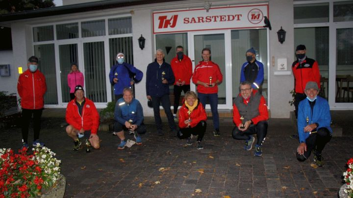 TKJ-Lauftreff ehrt Sportler