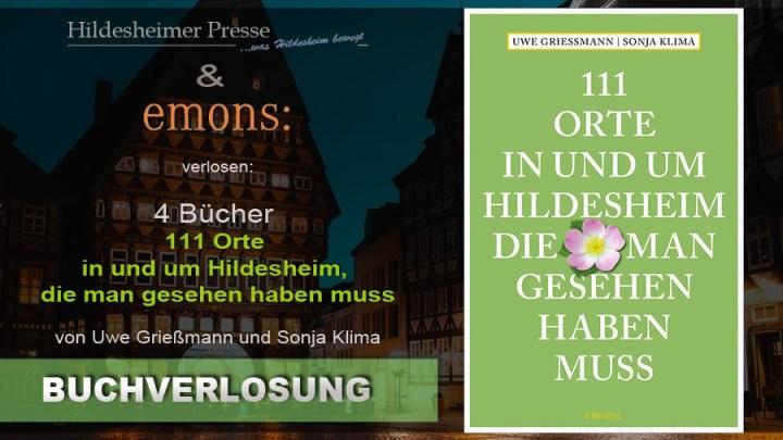 """Buchverlosung """"111 Orte in und um Hildesheim, die man gesehen haben muss"""""""