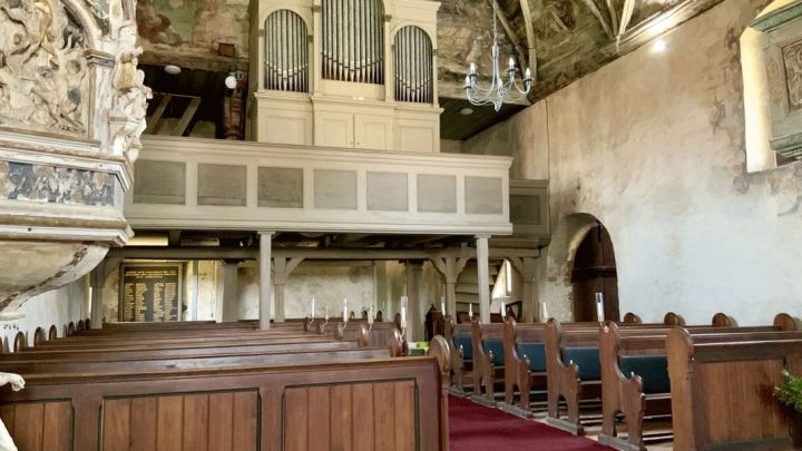 """Die """"Orgel des Monats November 2020"""" in Berge"""