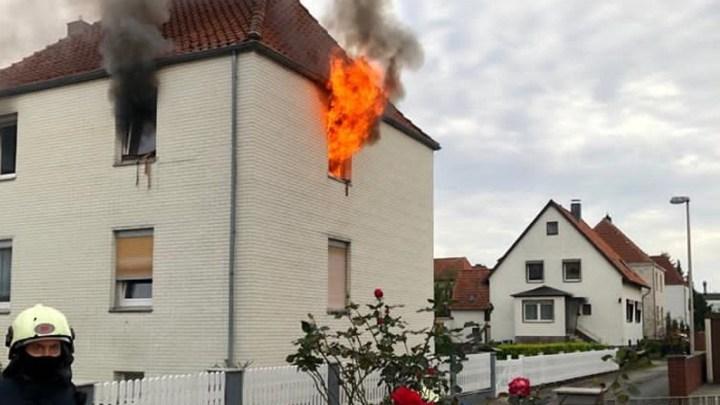Sechs Verletzte bei Wohnungsbrand