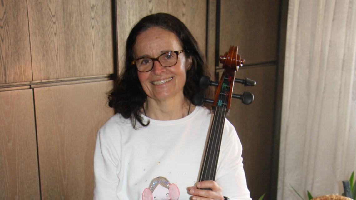 Catherine Lointier vom französischen Komitee verbringt ihre Winterferien in Sarstedt