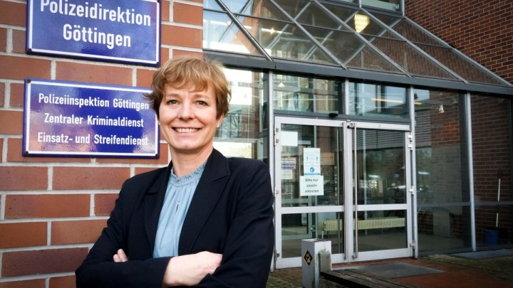 Wechsel an der Spitze: Gwendolin von der Osten ist neue Präsidentin der Polizeidirektion Göttingen