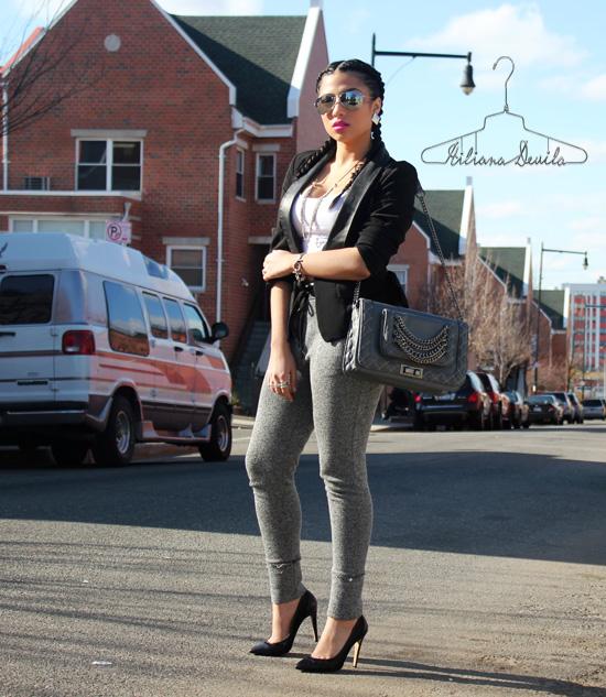 Hiliana Devila-Sweats & Heels