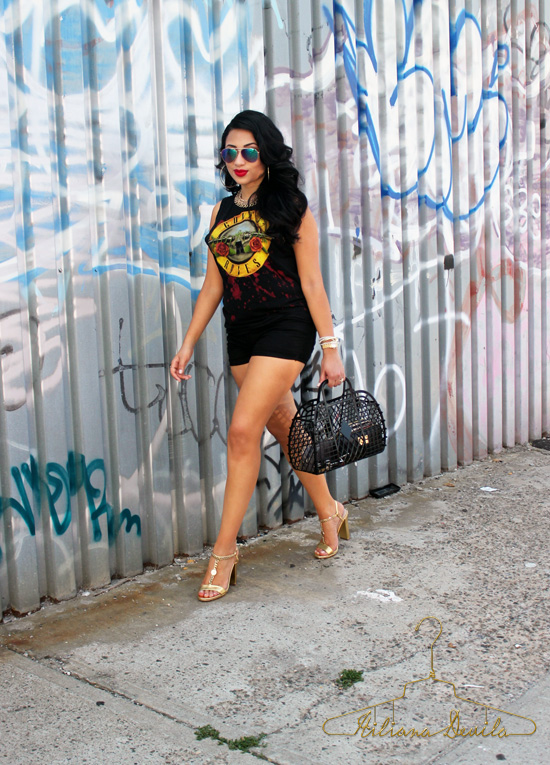 Hiliana Devila Guns N' Roses Summer Fashion