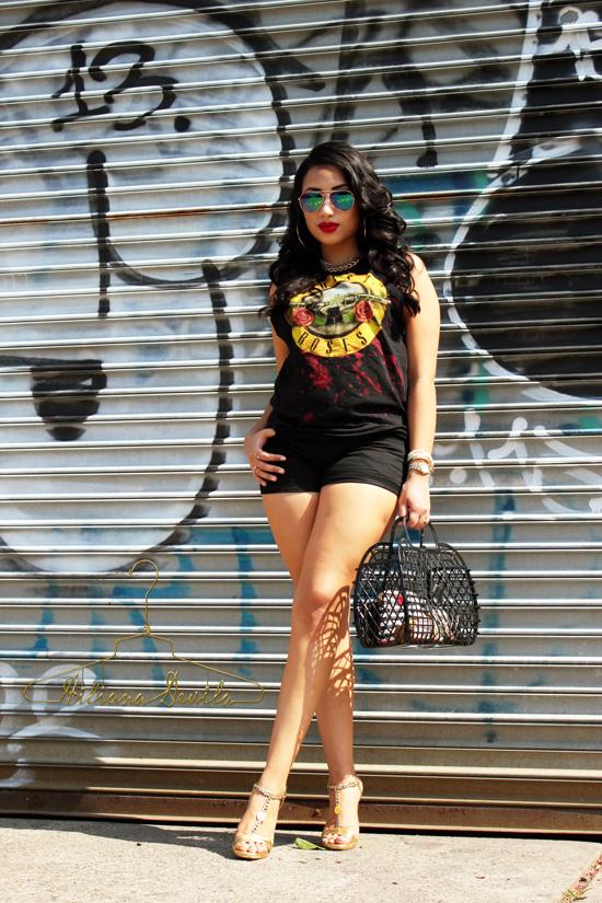 Hiliana Devila Guns N' Roses Summer Style