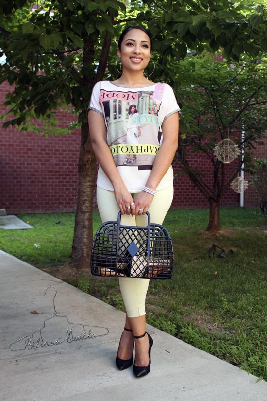 Hiliana Devila Pops of Color Summer Style
