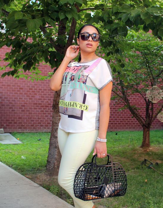 Hiliana Devila Summer Style Pops of Color