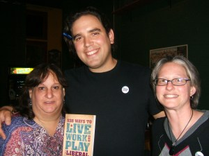Drinking Liberally chapters in Atlanta and Dunwoody meet co-founder Justin Krebs during his book tour.