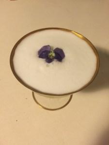 Violet Gin Sour