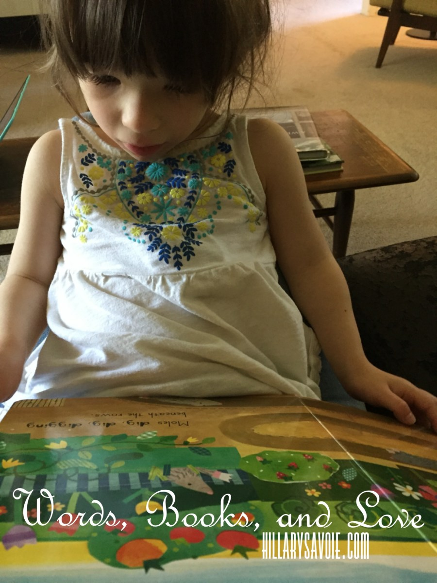 Words, Love, and Books: Reading with my daughter with special needs