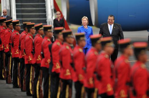 Hillary Clinton visits El Salvador (1/6)