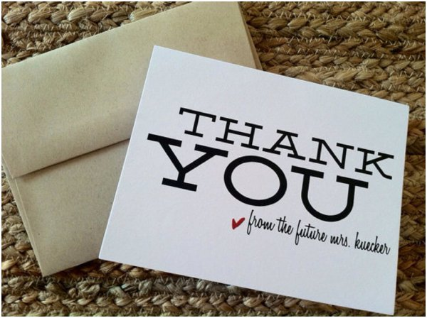 Thank You Note Ideas » Hill City Bride