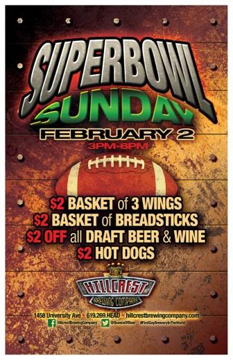Superbowl Sunday in Hillcrest