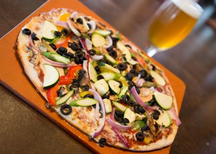 Steve's Garden HBC Pizza