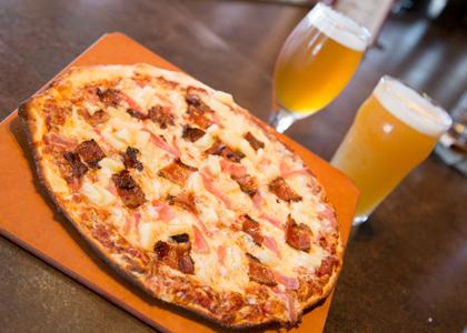 Sweet Hot Pig HBC Pizza