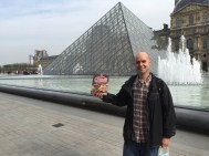 The Louvre Pyramid and Cruesli