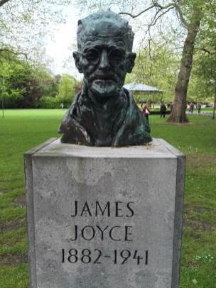 James Joyce - St. Stephen's Green