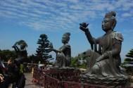 Near the Tian Tan Buddha Statue