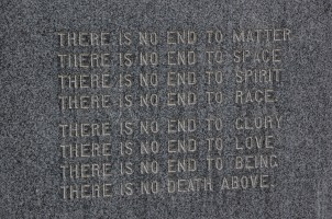 Lyrics to If You Could Hie to Kolob, on the memorial to its author, W. W. Phelps