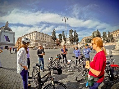 Excellent bike tour of Rome, Italy