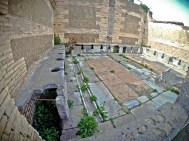 A bunch of toilets in Ostia Antica