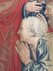 Tapestry in Vatican Museum