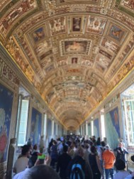 Map Gallery in Vatican Museum