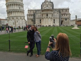 Pisa tourists