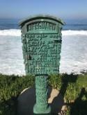 Lifeguard monument at La Jolla