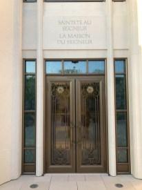 Paris Temple - Sainteté au Seigneur - La Maison du Seigneur