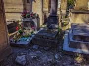 Jim Morrison's grave - Pere Lachaise