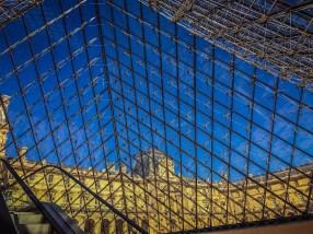 Louvre Pyramid - inside