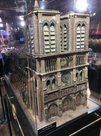Notre Dame made of chocolate
