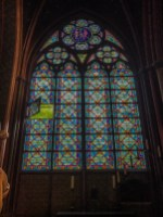 Had no idea you could open stained glass windows