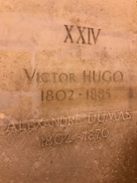 Tombs of Victor Hugo and Alexandre Dumas - The Pantheon
