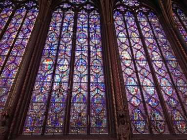 Sainte-Chapelle glass