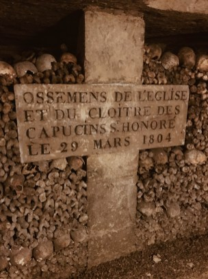 Sign in the Catacombs