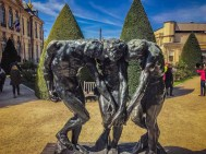 The Three Shades at the Rodin Museum