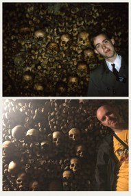 Catacombs heart - 24 years apart