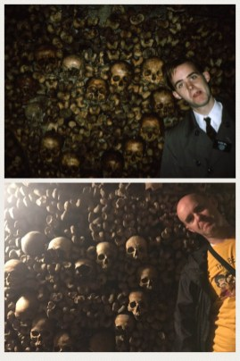 Catacombs heart - 24 years apart