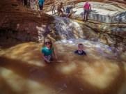 Sulphur Creek waterfall