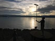 Sweeper at Bear Lake