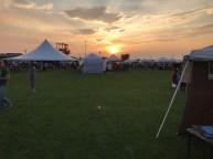 Sunset at Vendor Village