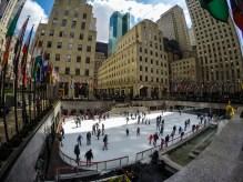 Ice skaters - Rockefeller Plaza