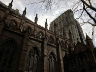 Trinity Church - NYC - burial place of Alexander Hamilton and family