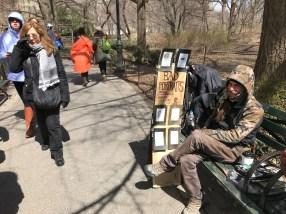 Bad portraits for cheap! Central Park