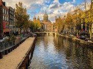 Nice view in Amsterdam