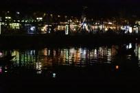 Night market reflections
