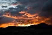 Sunset in Torey, UT