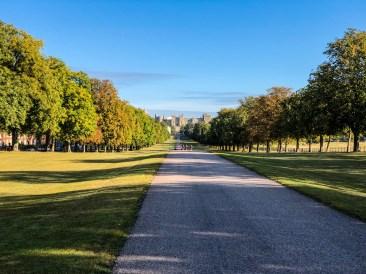 The Long Walk in Windsor, UK